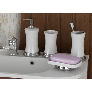Ison 4 Piece Bathroom Accessory Set by Latitude Run