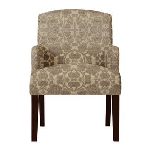 Arturo Brown Arm Chair by Langley Street