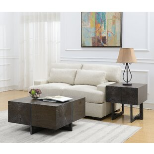 Mims 2 Piece Coffee Table Set