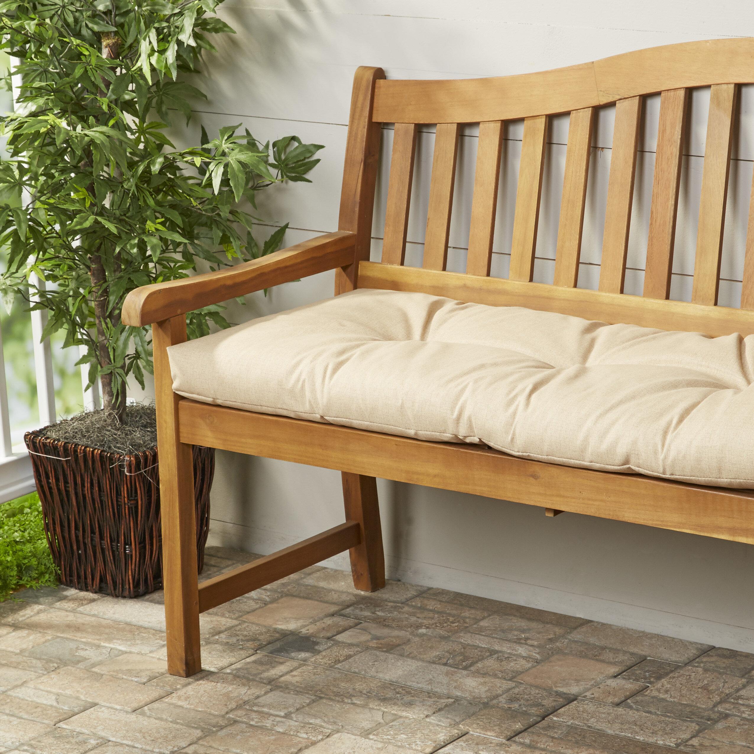 Wayfair Basics Indoor U0026 Outdoor Bench Cushion