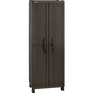 Resin Wicker Wardrobe Armoire by RIMAX