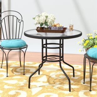 Ricard Patio Round Steel Dining Table