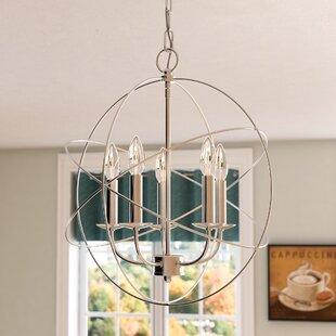 Bordelon 5-Light Globe Chandelier