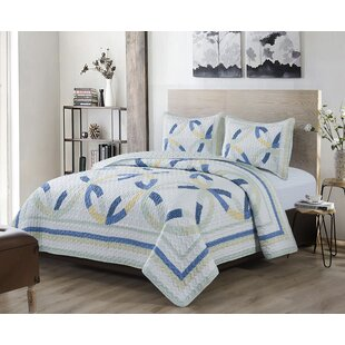Neal Wedding Ring Quilt Set