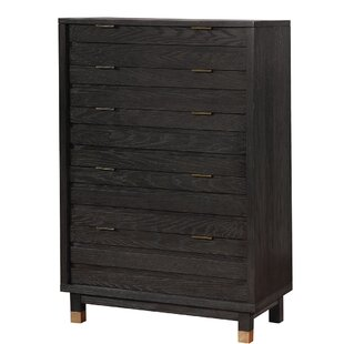 Latona Contemporary Wood 5 Drawer Chest
