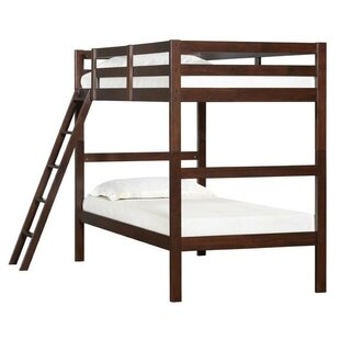 Standard Twin Bunk Bed with Ladder by Simmons Casegoods