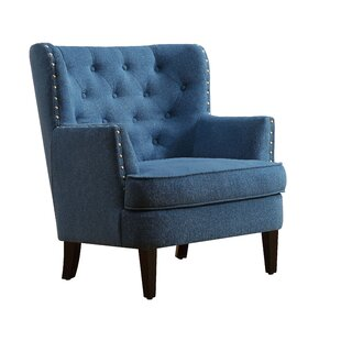 Ideal Light Blue Wingback Chair | Wayfair SW22