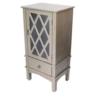 Roof 1 Door Accent Cabinet by World Menagerie