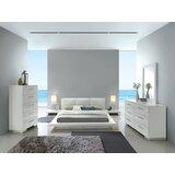 Uchis Christie Queen Platform Solid Wood 4 Piece Bedroom Set by Orren Ellis