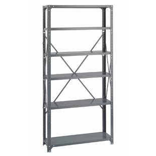 Nora Steel 6 Shelf Shelving Unit