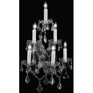 House of Hampton Keenum 6-Light Candle Style Chandelier