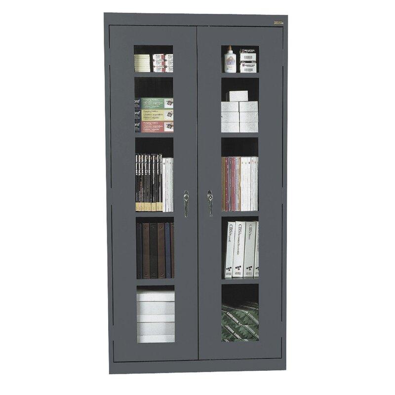 Sandusky Clear View Storage Cabinet