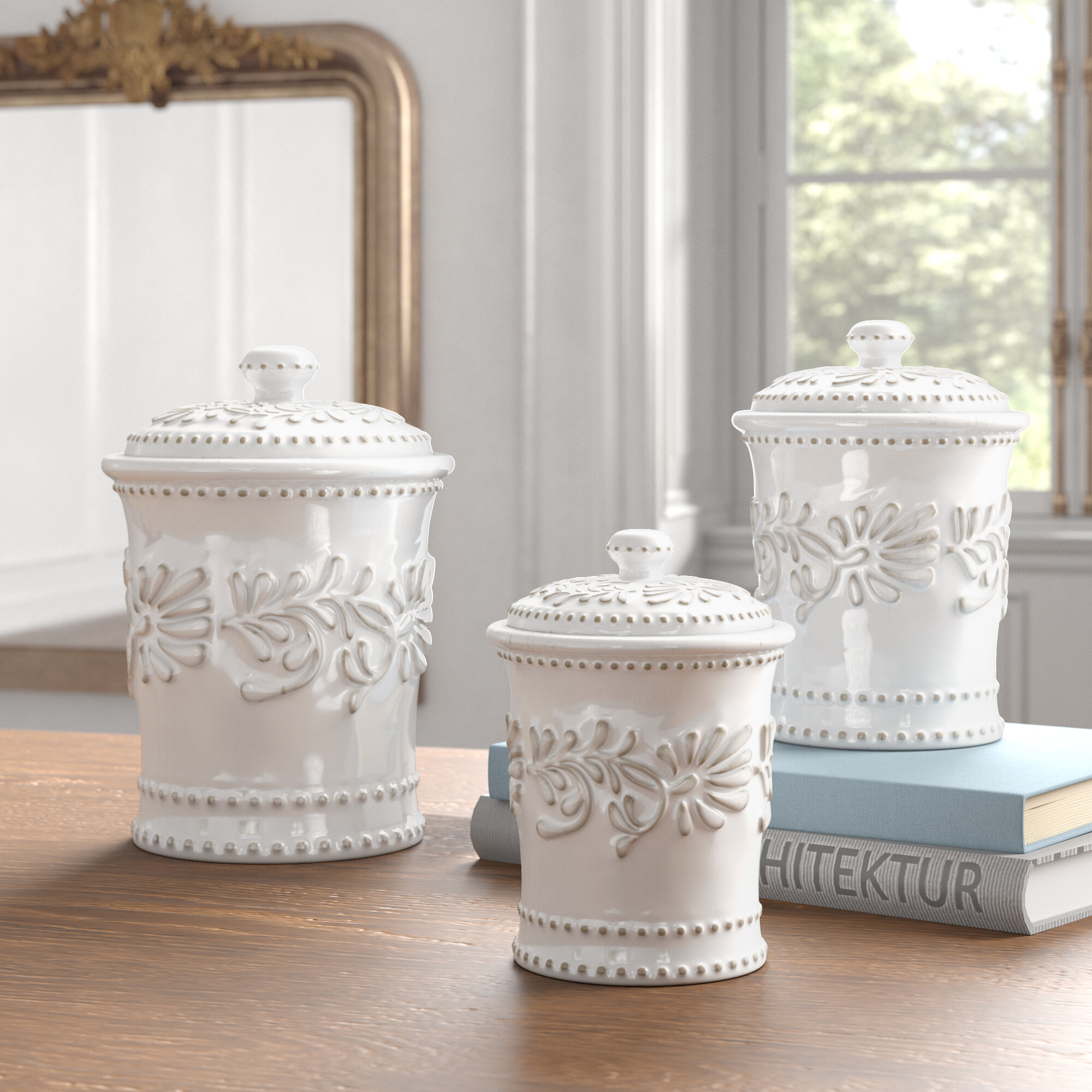 Kitchen Canisters Jars Up To 50 Off Through 12 26 Wayfair