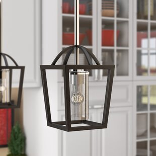 Savings Luna 1-Light Lantern Pendant By Laurel Foundry Modern Farmhouse