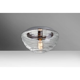 Besa Lighting Wave Outdoor Flush Mount