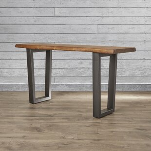 Affordable Price Sonnier Console Table ByUnion Rustic