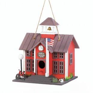 Zingz & Thingz Public School 11 in x 9 in x 7.5 in Birdhouse