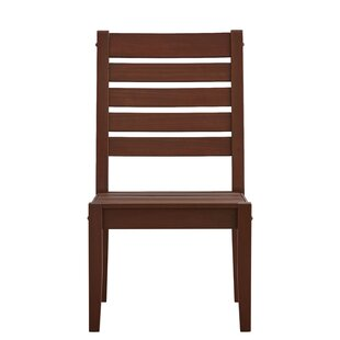 Brook Hollow Patio Dining Chair (Set of 2) by Three Posts