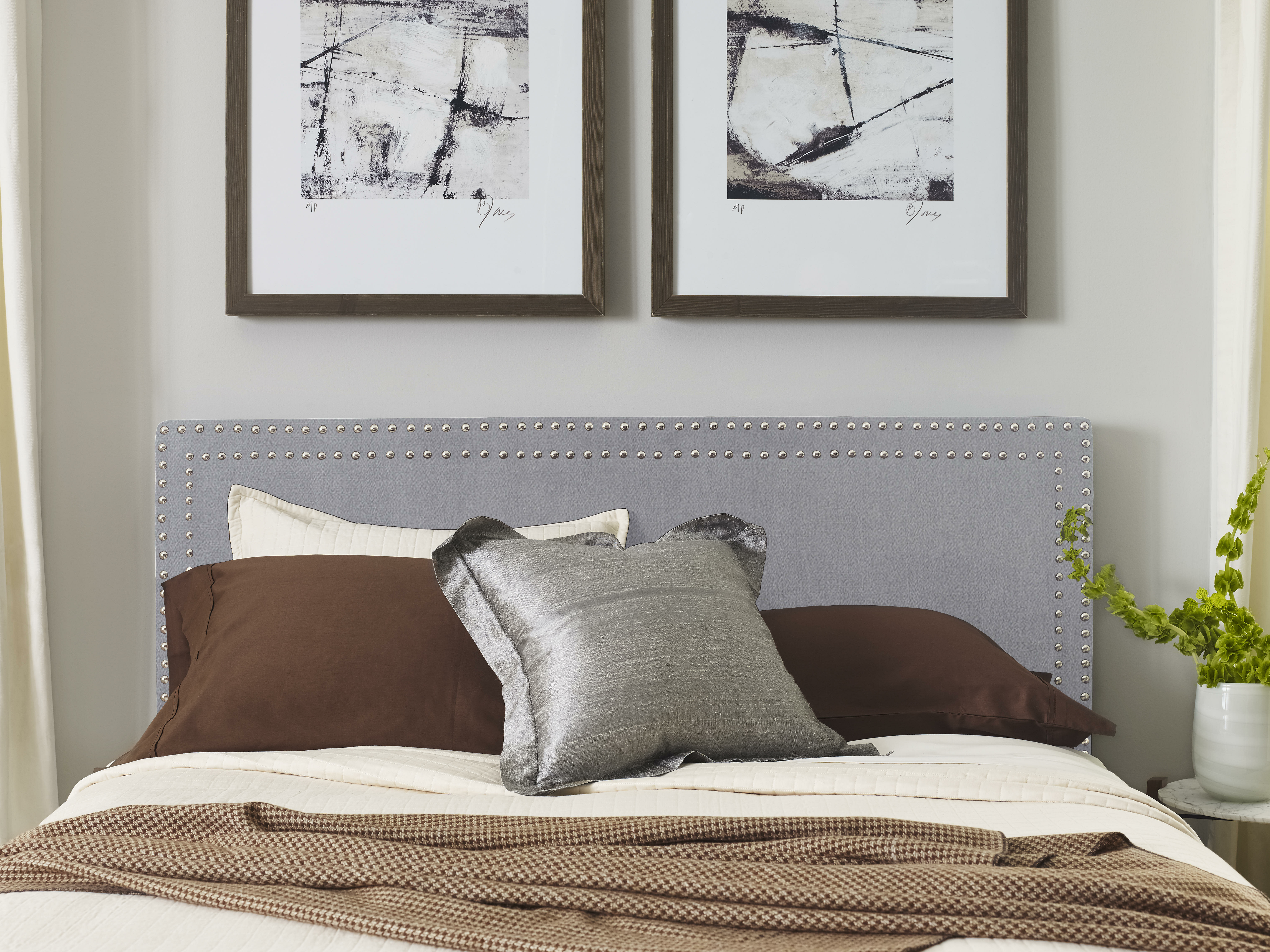 bedroom frame of full large gray king set platform no grey size wood bed upholstered queen headboard fabric