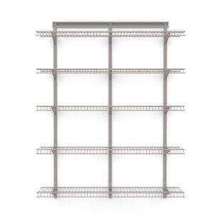 ShelfTrack 48 W Wall Shelf by ClosetMaid