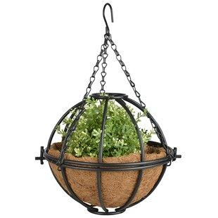 Sphere Metal Hanging Planter