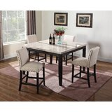 Amoret 5 Piece Counter Height Dining Set by Alcott Hill®