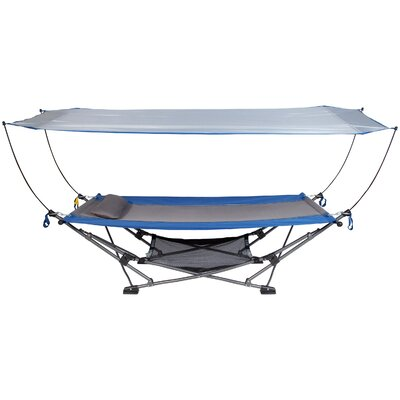 Hopedale Collapsible Camping Hammock With Stand by Freeport Park Comparison