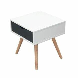 Donya 1 Drawer Bedside Table By Fjørde & Co