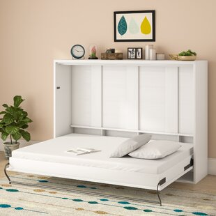 Clarksville Queen Murphy Bed with Mattress