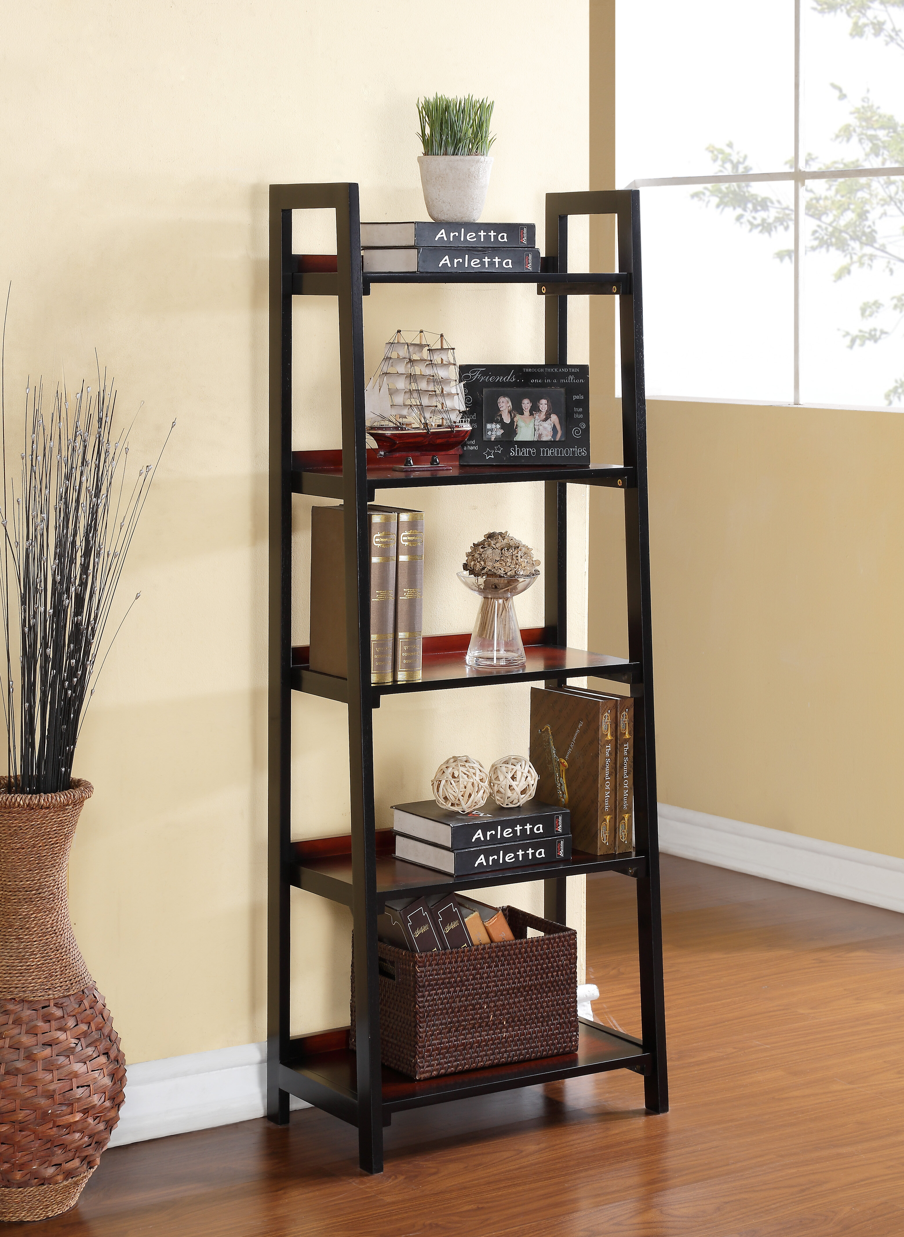 Hilbert Ladder Bookcase
