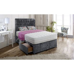 Hutchison Upholstered Divan Bed And Headboard By Rosdorf Park