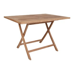 Hodur Wooden Dining Table By Sol 72 Outdoor