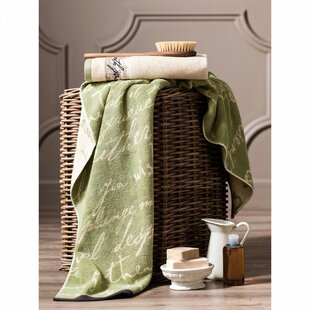 Yancey Cotton Bath Towel by Fleur De Lis Living