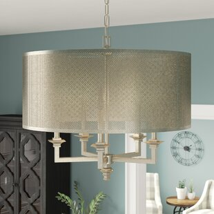 Low priced Freeburg 5-Light Drum Chandelier By Laurel Foundry Modern Farmhouse
