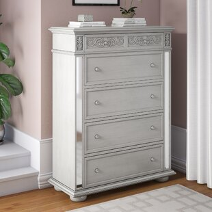 Waddell 5 Drawer Chest by House of Hampton