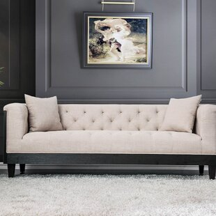 Herrald Wooden Sofa by Gracie Oaks