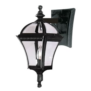 Inexpensive Camelot 1-Light Outdoor Wall Lantern By Three Posts