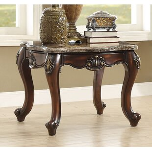 Roberson End Table by Fleur De Lis Living