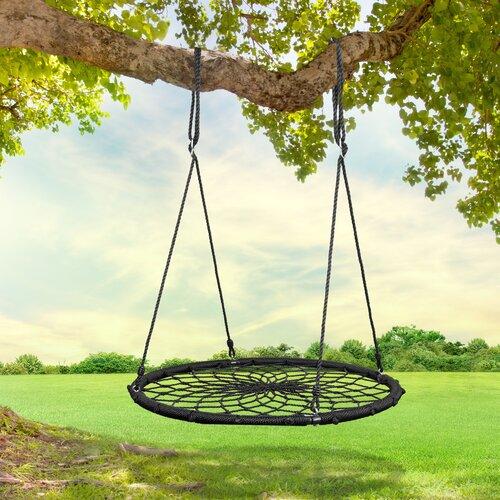 Heavy Duty Swing Kids Tree Nest Swing Garden Backyard Hammock Hanging Rope Chair