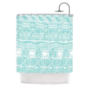KESS InHouse Beach Blanket Bingo Shower Curtain