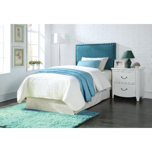 Read Reviews Keytesville Twin Upholstered Panel Headboard by Harriet Bee