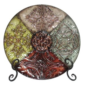 traditional round decorative plate