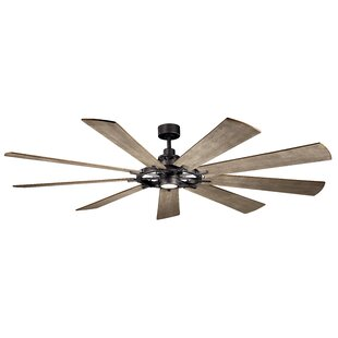 85 Ciaran 9 Blade LED Ceiling Fan By 17 Stories