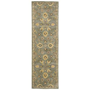 Delaware Light Blue Area Rug by Darby Home Co