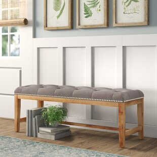 Geralynn Wood Bench by Birch L..