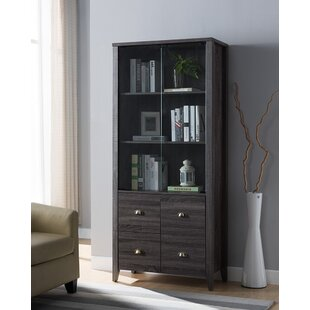 Milne Modern Standard Bookcase by Gracie Oaks