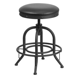 Erik 24'' Swivel Bar Stool by W..