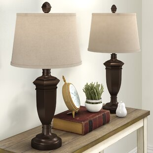 Grosvenor Steel 30.75 Table Lamp (Set of 2)
