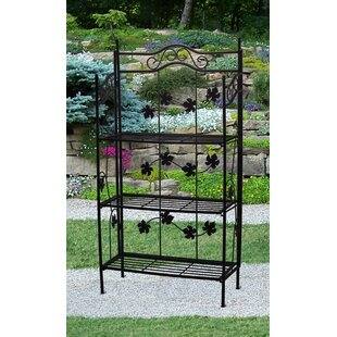 Sun Wave Iron Baker's Rack by Oaklan..