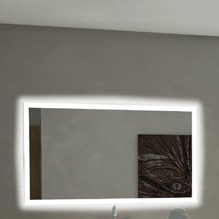 Paris Mirror Rectangle Backlit Bathroom/Vanity Wall Mirror